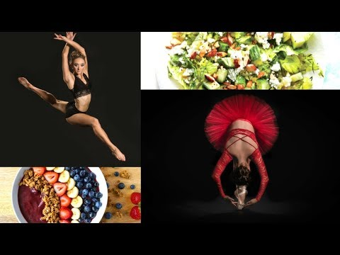 What we EAT in a day as Dancers/Acrobats/Gymnasts!
