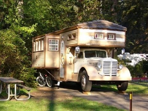 Heres a Very Tiny House on Top of a Very Big Truck YouTube