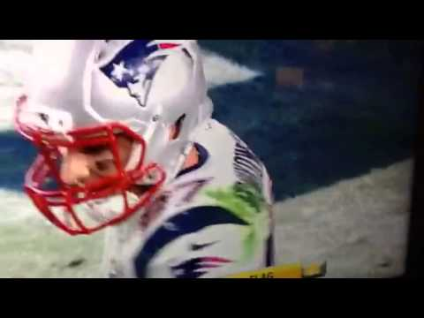 SuperBowl 49 - Seattle SeaHawks Vs New England Patriots Fight  @ End Of Game- Unreal!.