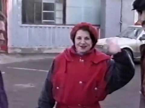 """Купчино в 1997 году. Поездка к метро. За окнами виды улицы Дундича."""""""