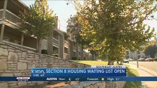 Section 8 waiting list opens