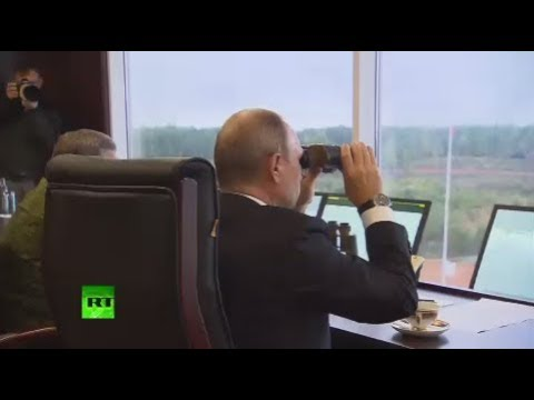 RAW: Putin arrives at Zapad 2017 war games, watches joint exercises