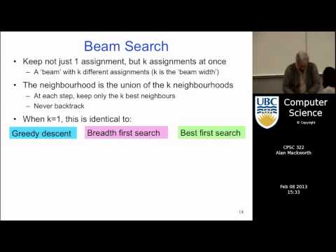 Lecture 17 | CSP 7: Stochastic Local Search Algorithms