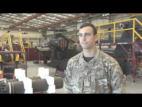 REME Aircraft Technician Career Trade Video
