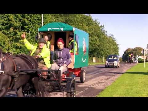 Dublin To Ballinasloe by horse and carriage