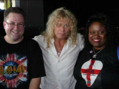 Def leppard backstage tour and meet n greet youtube m4hsunfo