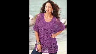 Вязание Крючком - Кофточки Полным - 2018 / Crochet Knitting Full
