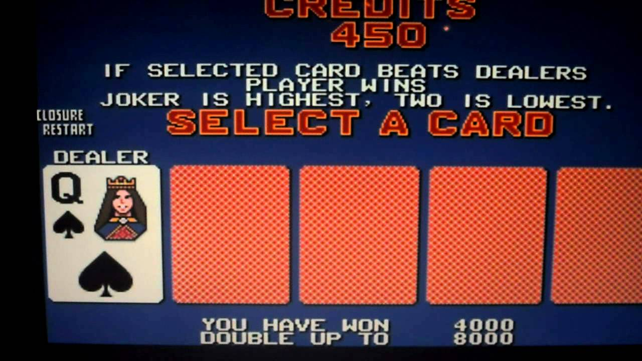 Should you double in video poker world of tanks garage slots