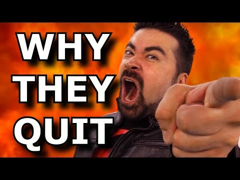 Why Gaming Youtubers Randomly Quit - Angry Joe Rant