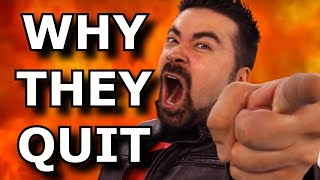 Why Gaming Youtubers Randomly Quit - Angry Joe Rant