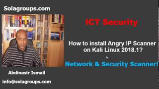 How to install Angry IP Scanner on Kali Linux 2018.1?