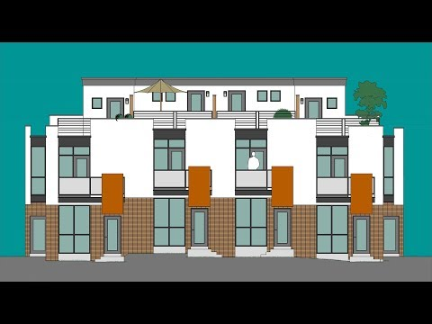 Baker West - New Townhomes In Denver's Baker Neighborhood
