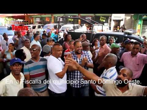 En la Fiscalia del municipio Santo Domingo Oeste sobre caso abogado yuniol Ramirez