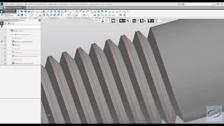 Компас 3D V18 - Резьба метрическая по правилам