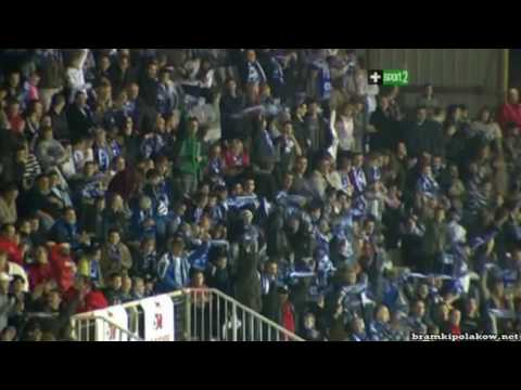Druga bramka Jelenia w sezonie 2009 -2010 Auxerre - Lille 2-2