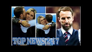 Gareth Southgate wife: Alison comforts England manager after World Cup 2018 defeat