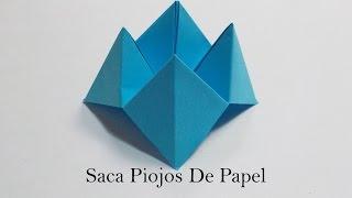 Saca Piojos En Origami / Saca Piojos De Papel / Mundo Origami