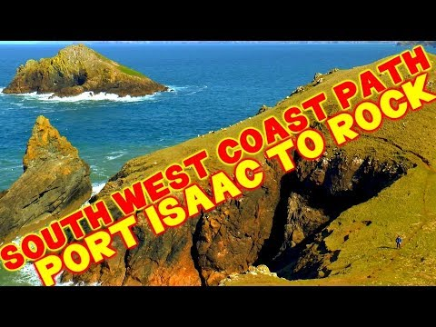 Walking the South West Coast Path - Port Isaac to Rock