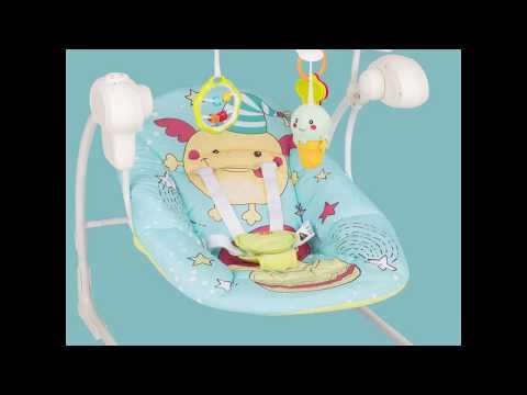Шезлонг-качели Jolly HB | Happy Baby