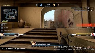 CSGO - NICE CLUTCH AND ACE - TROLLING AS JUSTIN BIEBER