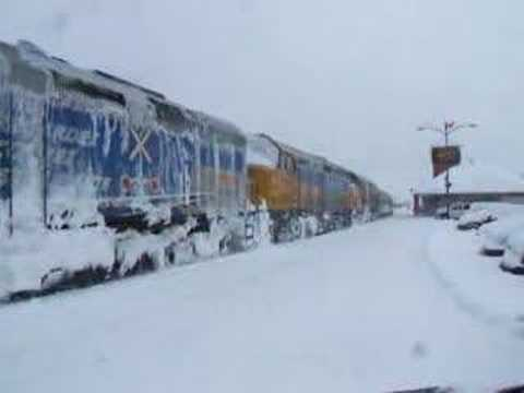Thumbnail: Via Rail Bathurst NB New Brunswick Canada