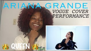 [REACTION] Ariana Grande's Vogue Video Performance | Vogue