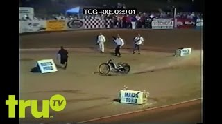 Ghost Bike - Dirt Bike Racer Falls Off Bike, Bike Keeps Going