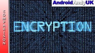Encypted vs Non-Encrypted (on Samsung Galaxy Note 5)