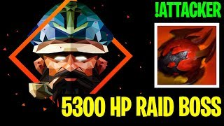 5300 HP RAID BOSS!! - !Attacker Kunkka - Dota 2