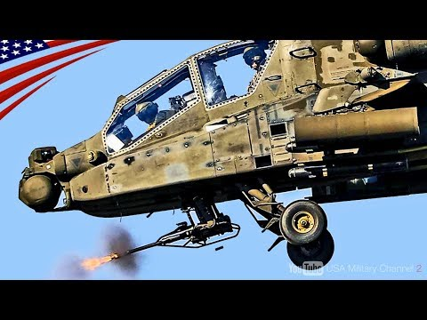 """【最新型アパッチ】最強の攻撃ヘリ""""AH-64Eアパッチ・ガーディアン""""無人機と連携する圧倒的な戦闘力!"""