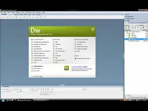 dreamweaver web templates