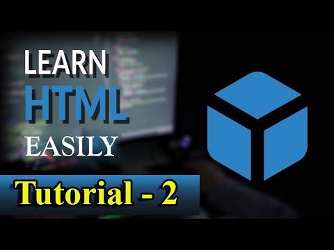 LEARN HTML EASILY TUTORIAL- 2 thumbnail