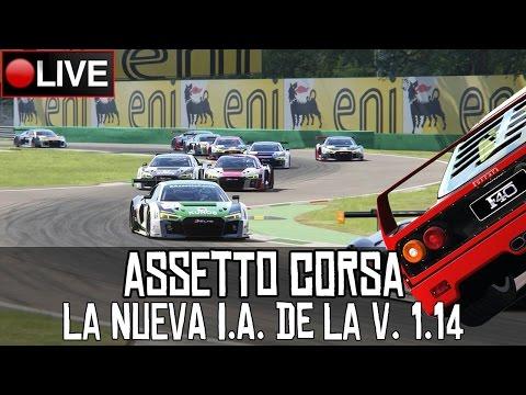 Assetto Corsa || La nueva I.A. de la versión 1.14