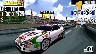 Sega Touring Car Championship (Saturn) Playthrough - NintendoComplete