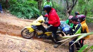 Phượt TV   #3 Nguy hiểm rình rập khi offroad xuyên rừng