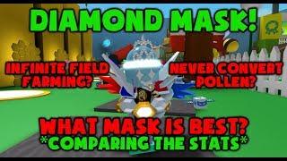 INFINITE BAG? - DIAMOND MASK - Roblox Bee Swarm SImulator
