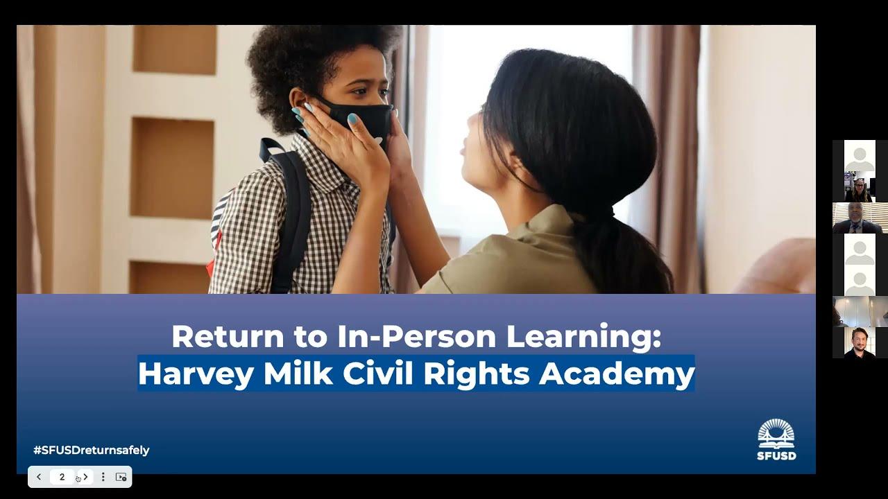 Sfusd Calendar 2022.Harvey Milk Civil Rights Academy We Are A San Francisco K 5 Public School Located In The Castro