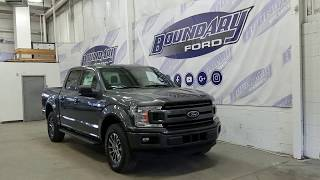 2018 Ford F-150 SuperCrew XLT Sport 301A W/ 5.0L V8, Magnetic Overview | Boundary Ford