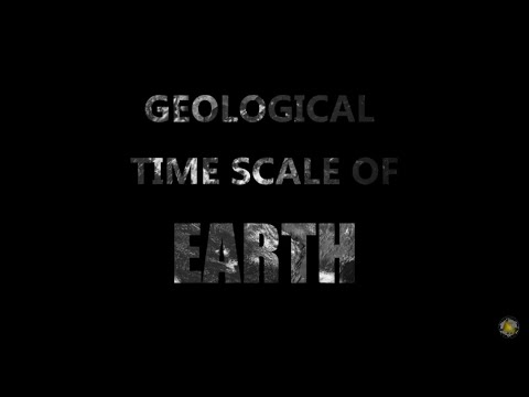 Geological Time Scale of Earth
