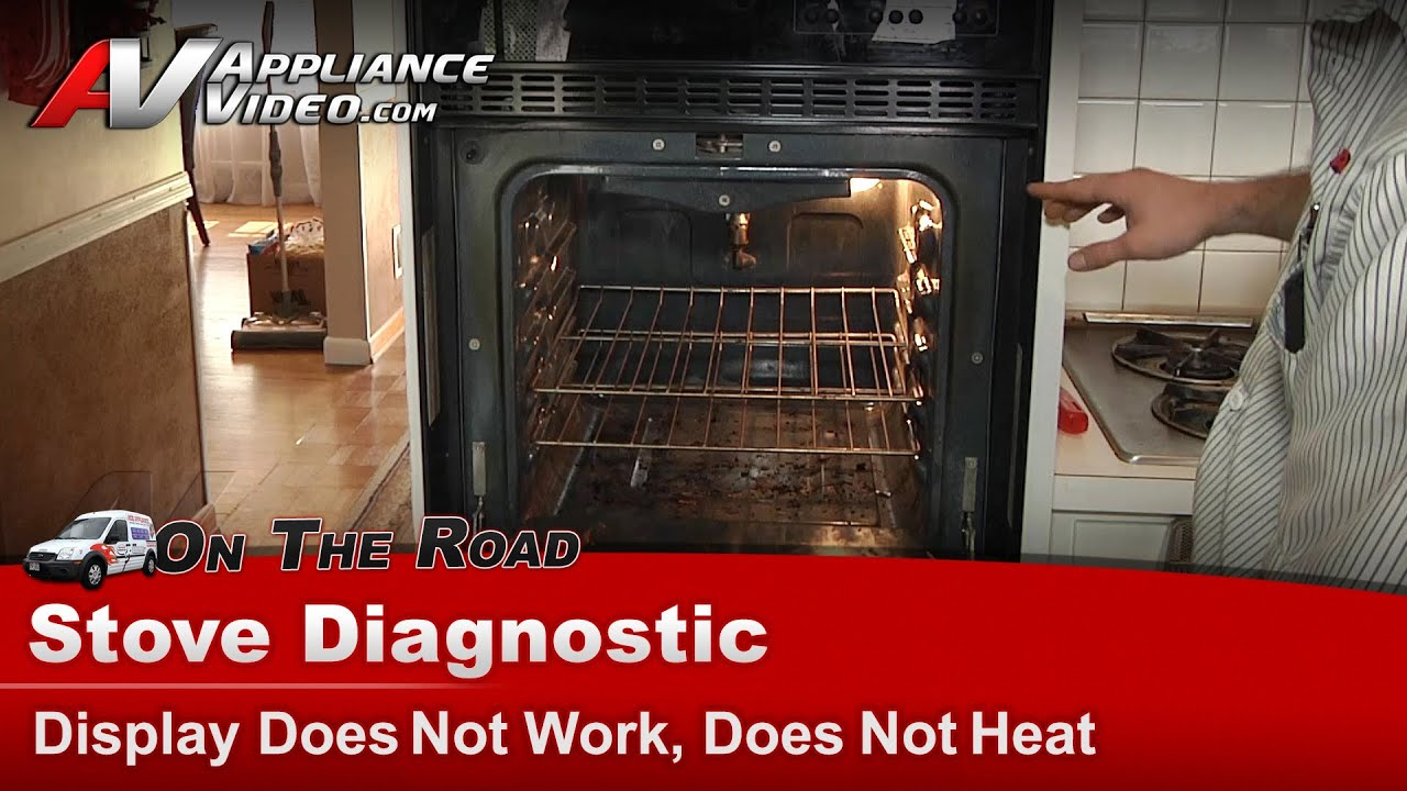 whirlpool wall oven diagnostic display does not work does not