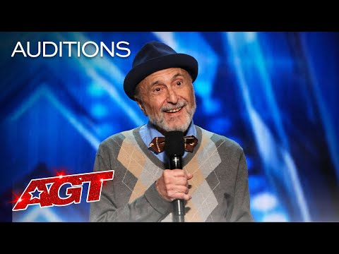 Eighty-Year-Old Comedian Marty Ross Tells Funny Stories About His Age - America's Got Talent 2020