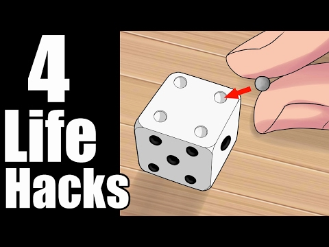 4 Simple Life Hacks & ideas
