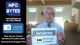 Feedback video  Nuccio Cavone (Docente della scuola media)