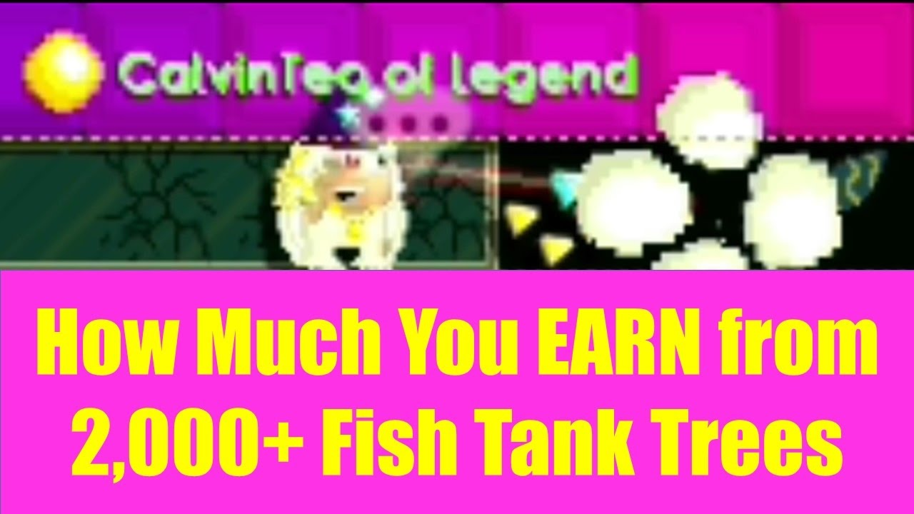 Growtopia 155 how much you earn from 2000 fish tank for How much is a fish tank