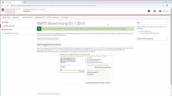 PROFFIX Tutorial: MWST online einreichen
