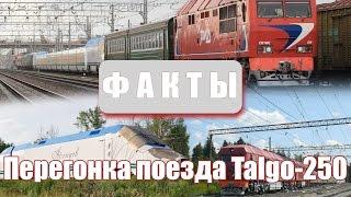 Факты - Перегонка поезда Talgo-250(, 2016-05-22T17:00:22.000Z)