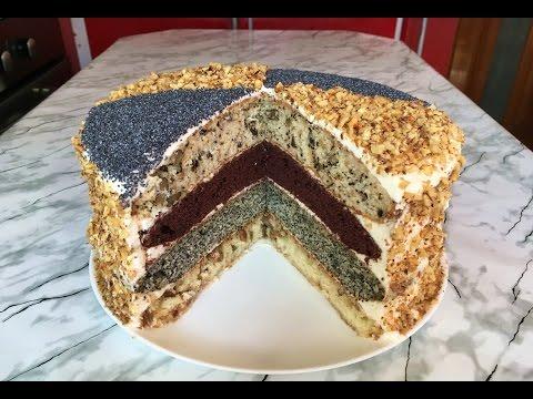 ТортКоролевский(Очень Вкусно)/Сметанный Торт/Royal Cake/Пошаговый Рецепт