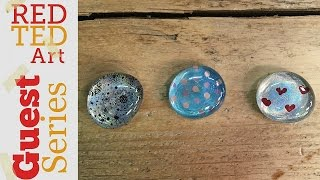 DIY Fridge Magnets Nail Varnish Crafts with Natasha Lee