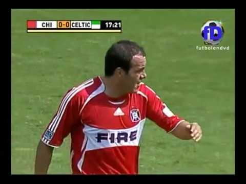 Chicago Fire vs Celtic FC Cuahutemoc Blanco 2007