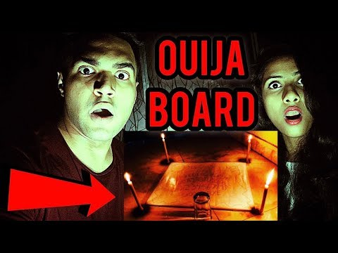 Playing OUIJA BOARD ( EVIL SPIRIT CONTACTED )